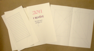 2011 journal pages, guidelines and golden rectangle