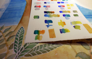 Color and paint trials