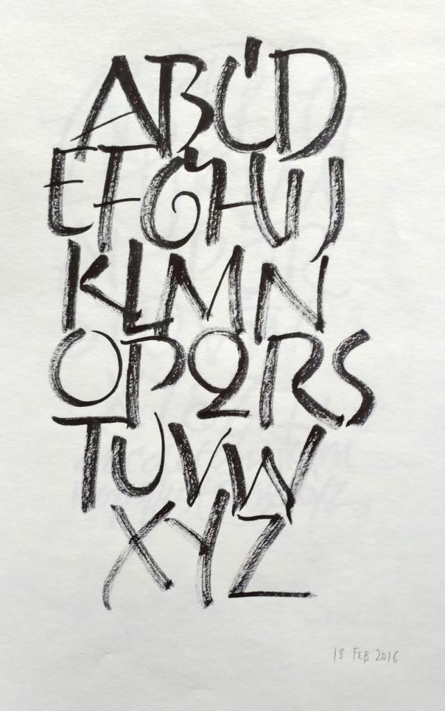 Feb 18 daily alphabet