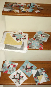 The quilt, in bits and pieces