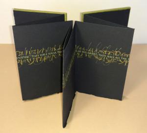 Letters Inspire II - standing open