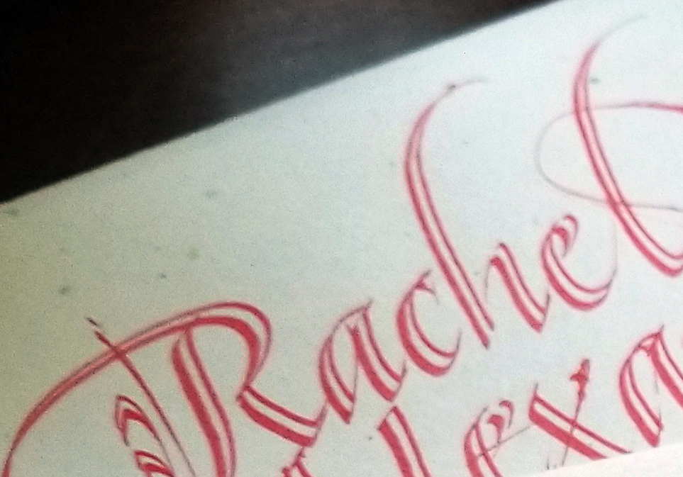 Rachel envelope